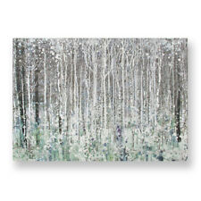 Art for the Home Watercolour Woods Printed Canvas (Was £50)