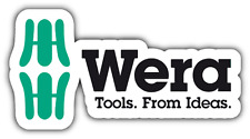 "Wera Tools German Tool Car Bumper Window Tool Box Sticker Decal 6""X3"""