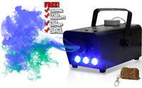 BLUE LED WIRELESS SMOKE / FOG MACHINE 400W DJ DISCO LASER LIGHT CLUB FOGGER PUB