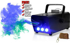 BLUE LED WIRELESS SMOKE / FOG MACHINE 400W DJ DISCO LASER LIGHT CLUB FOGGER PUB