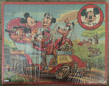 1950 - 1955 Mickey Mouse / Donald Duck Puzzle