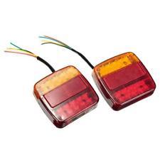 2x 26LED Rücklicht Brems Stop Blinker Nummernschild Lampe für Anhänger Lkw RV
