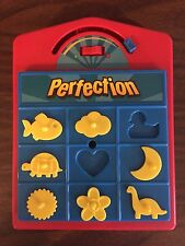 Milton Bradley  Perfection Vintge Travel Size Board Game Ages 5+