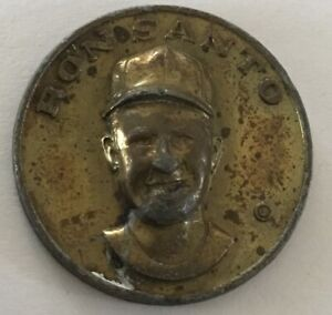 Ron Santo Baseball Centennial Chicago Cubs Token Coin Medal