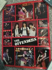 Randy Castillo Original Promo Poster and Lp for the Offenders band - pre Ozzy .