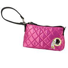 Washington Redskins NFL Pink Littlearth Quilted 8''x5'' Wristlet Purse