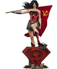 Wonder Woman Red Son Premium Format Statue DC Comics Sideshow Collectibles 56 Cm