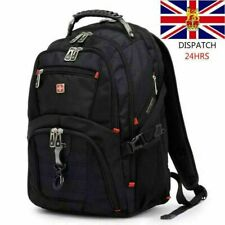 Mens Wenger Swissgear 17.1 inch Laptop Backpack/Notebook Bag/Rucksack Backpack