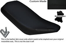 BLACK STITCH CUSTOM FITS BASHAN 200 QUAD DUAL LEATHER SEAT COVER ONLY