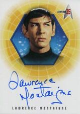 Star Trek 35th Anniversary Holofex Autograph Card A6 Lawrence Montaigne