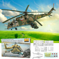 Mi-24P Hind-F/Mi-24D Hind-D 1:48 Scale Static Aircraft Series Helicopter Model