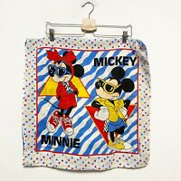 "Vintage Mickey Mouse Minnie Mouse Pillow Case 21""x21"""