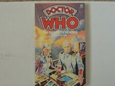 Doctor Who book novel Enemy of the World - Warehouse stock Excellent White Spine