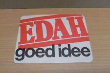 1x Sticker - Decal EDAH Supermarkt with org.back 80/90's (04061)