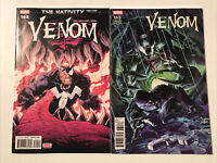 Venom 165, Marvel 2018, Cover Set, Variant, Sleeper, Symbiote