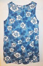 Royal Creations Sleeveless Dress Women Medium Made in Hawai Hibiscus Pattern