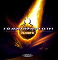 ABOMINATION planet x (CD album) psy-trance