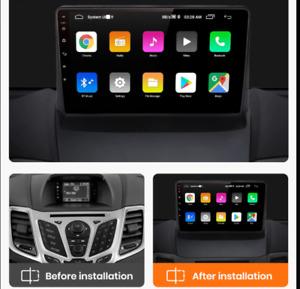 "9"" Autoradio Android Ford Fiesta 2008-2017 gps navi wi-fi bluetooth mirrorlink"