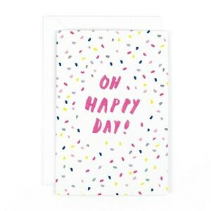 """Hotchpotch Lemonade """"Oh Happy Day"""" Greeting card"""