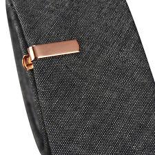 Da Uomo Ragazzi 2cm ROSE ORO Fermacravatte Skinny Slim Standard Clip Pin Fibbia