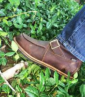 "Irish Setter Boots Mens Wingshooter 9"" Side-Zip Waterproof Brown 839"