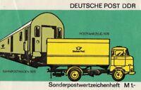 Deutsche Post DDR Sonderpostwertzeichen mit 10 Marken postfrisch Markenheftchen