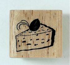 """""""CAKE"""" NEW WOOD MOUNTED RUBBER STAMPS ART SCRAPBOOKS"""