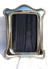 Stylish Finest 999 Quality Hallmarked Silver London & Britannia Photograph Frame