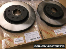 Lexus IS250 (2009-2013) OEM Genuine FRONT BRAKE ROTOR SET - ROTORS 4351X-30XX0