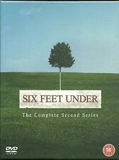 SIX FEET UNDER - The Complete Second Series 5 x DVD BOX SET UK 2004 Drama