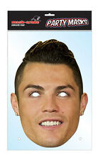 Cristiano Ronaldo Footballer Single 2D Card Face Mask - Portuguese Goals
