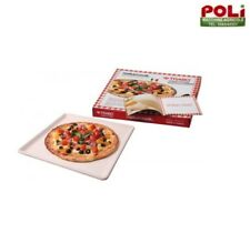 PIASTRA REFRATTARIA FATTA A MANO PER PIZZA CARNE PESCE VERDURE NATURCOOK