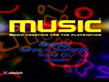 ★★ Jeu PS1 : Music Creation for Playstation ★★
