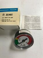 "Ashcroft 2C492 Pressure Gauge 0 to 60 PSI 2"" 18"", BRAND NEW INVENTORY"