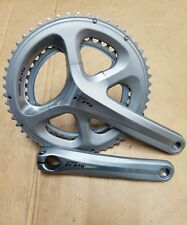 New Sliver Shimano 105 fc-5800 11 Speed Double Chainset 53/39T 172.5 Arm TT Bike