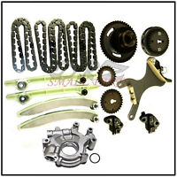 9-0393S 1999-02 4.7 Dodge Jeep Timing Chain Kit With Oil Pump - For JTEC PCM