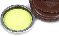ROLLEIFLEX RII Yellow-Green (Gelb - Hell) + Case - Planar 3.5 -