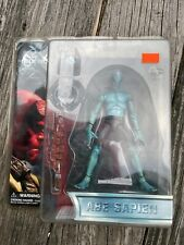 "2004 Mezco Hellboy Series 1 Abe Sapien BPRD Figure 7"" Inch Sammael Egg NR"