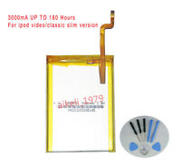 THIN LG 3000mAh Battery Upgrade replacement for iPod Classic 6 6.5 7 Video 5 5.5