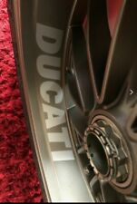 4 x DUCATI WHEEL STICKERS STREETFIGHTER PANNIGALE DIAVEL MONSTER MULTISTRADA