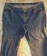 Riders men's blue jeans, 46x30, 100% cotton
