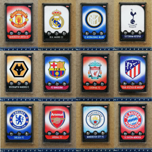 Match Attax 2019 2020 Champions League Football Badge Card Fridge Magnet Various