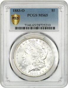 1883-O $1 PCGS MS65 - Morgan Silver Dollar
