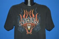 HARLEY DAVIDSON MYRTLE BEACH SOUTH CAROLINA BLACK MOTORCYCLE t-shirt LARGE L