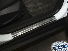 Ford Focus 2011-2015 Stainless Steel Door Sill Entry Covers Scuff Protectors 4pc