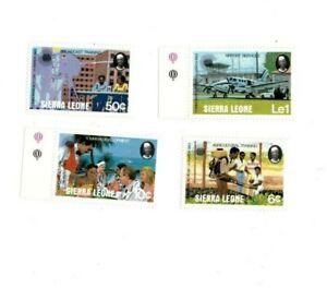 VINTAGE CLASSICS - Sierra Leone - 581-4 Commonwealth Day - Set Of 4 - MNH