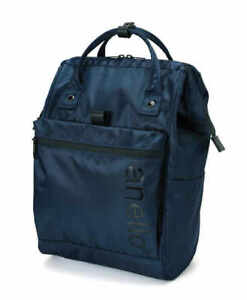 Anello REPELLENCY Japan Women Bag Clasp Student Unisex Backpack Rucksack Regular