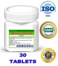 Metronidazole_30_tablets_250mg_Flagyl_Antiprotozoal_Antibiotic_Dog_Cat_Animals