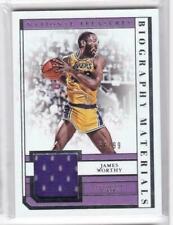 2018-19 James Worthy /99 Jersey Panini National Treasures Lakers