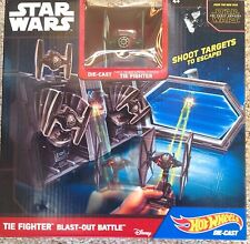 Hot Wheels Star Wars The Fighter Blast Out Battle Play Set